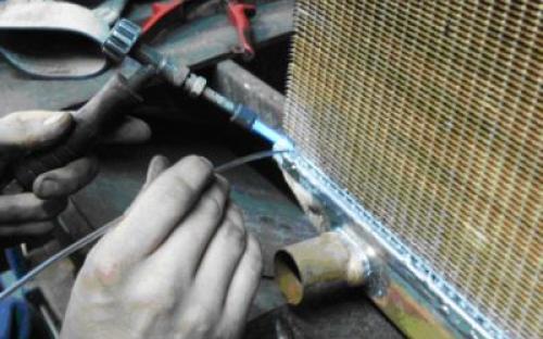 Ремонт своими руками радиатора охлаждения автомобиля